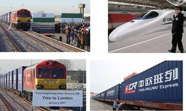 Tecno Ferrovia superveloce tra Londra e Pechino