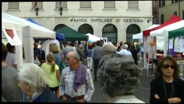 (Video) Interviste ed immagini della 26° Festa  2017 del Volontariato Cremonese