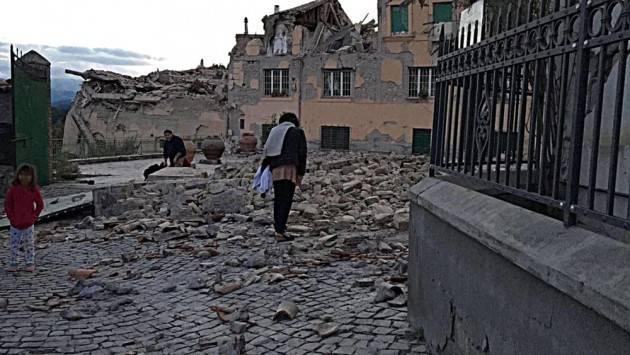 Terremoto 24 agosto 2016 E gli aiuti in denaro dove sono finiti? Di Giorgino Carnevali (Cremona)