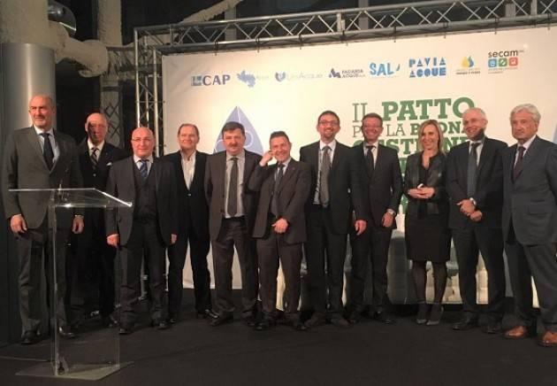 Padania Acque Gestione del Servizio Idrico Integrato: protocollo Regione Lombardia – Water Alliance