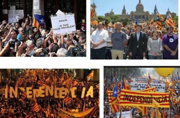 Caos e repressione in Catalogna. Verso l'indipendenza ? di Gian Carlo Storti