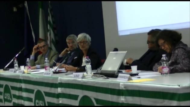 (Video) Annamaria Furlan a Cremona : La Cisl è impegnata sui giovani a cui spetta  un futuro migliore