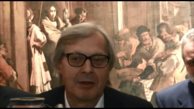 (Video) Vittorio Sgarbi in visita alla mostra del Genovesino proclama Cremona capitale della Padanìa di Gian Carlo Storti
