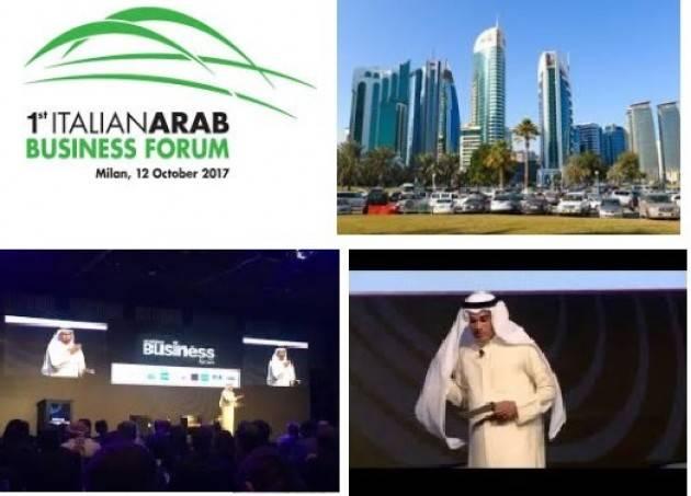 A Milano prima edizione dell'Italian Arab Business Forum