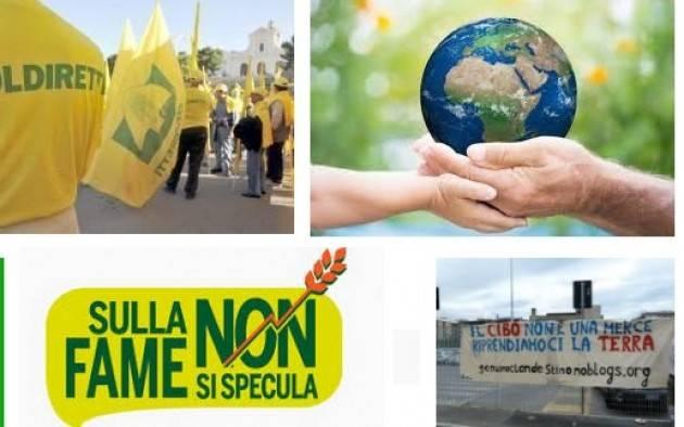 Bergamo 13-15 ottobre G7: IL CIBO NON E' UNA MERCE SOVRANITA' ALIMENTARE E LIBERO MERCATO