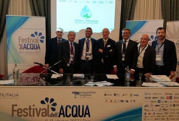 Padania Acque S.p.A. al  Festival dell'Acqua di Bari 8-11 ottobre 2017