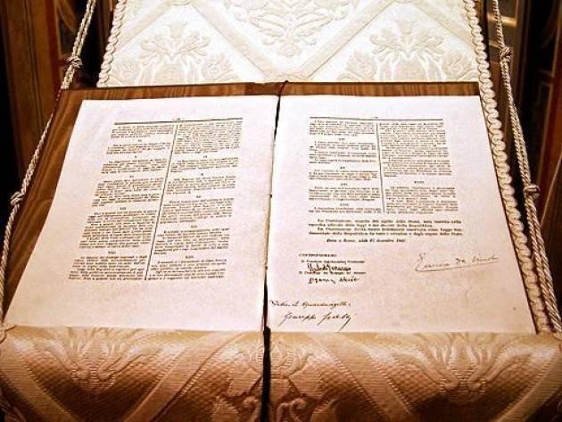 Programma 2018 Conoscere la Costituzione, Sabato 21 la presentazione  all'Archivio di Stato di Cremona
