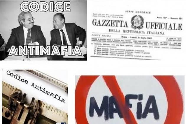 Cgil DALLA LEGGE DI INIZIATIVA POPOLARE ALLA RIFORMA DEL CODICE ANTIMAFIA