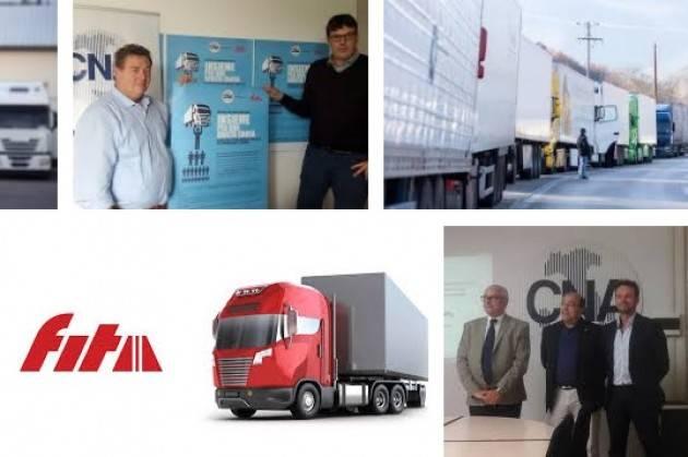 CNA Fita Sospese le trattative per rinnovo contratto autotrasportatori