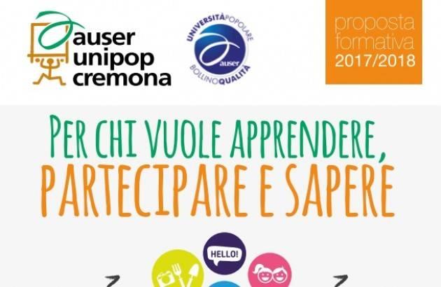 Altri corsi all'Auser Unipop Cremona: Francese, Trucco, Autocad 2D, Excel, Mani in pasta, Bijoux e Disegno