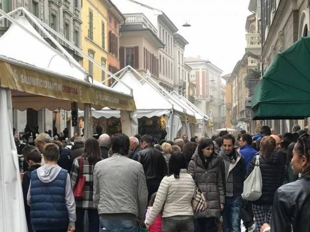 Ieri a Cremona Una grande festa del salame di Giorgio Barbieri