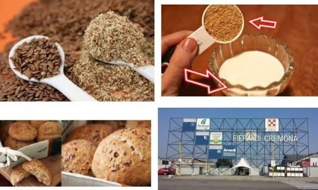 Cremona Fiere Quei semi di lino che 'fanno dimagrire' il latte