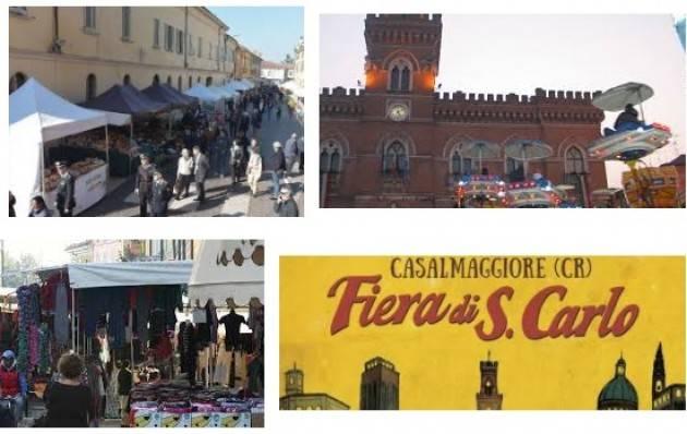 Casalmaggiore Fino al  6 novembre la Fiera di San Carlo 2017
