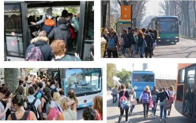 Nei bus KM SpA sulla tratta Bozzolo-Casalmaggiore studenti stipati come animali Valentina Penotti