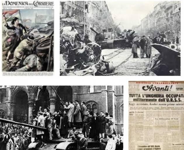 L'ECOAGENDA LA RIVOLUZIONE D'UNGHERIA DEL 1956  TESTIMONIANZE E IMMAGINI