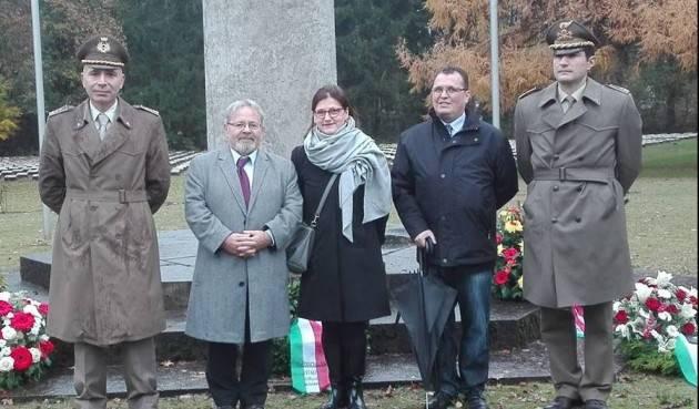 Festeggiato il 4 novembre ad Amburgo Il saluto di Scigliano