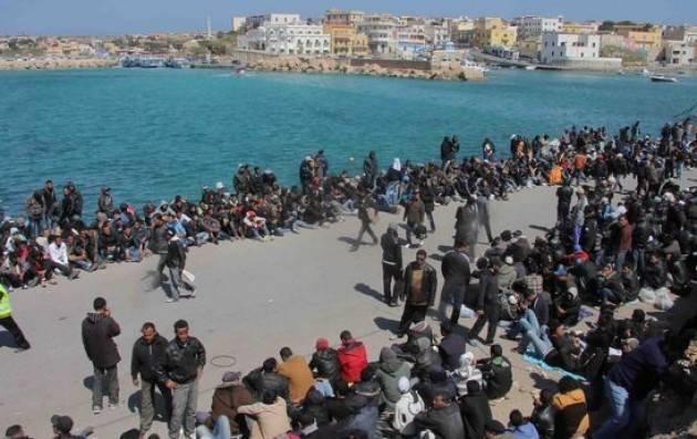 Migranti dalla Libia Roventi  polemiche fra Ministero Interni -Caritas