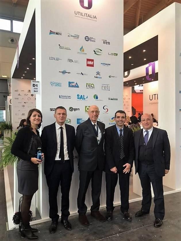 Padania Acque, insieme a Water Alliance, porta a 'Ecomondo' l'eccellenza della gestione del ciclo idrico integrato cremonese e lombardo