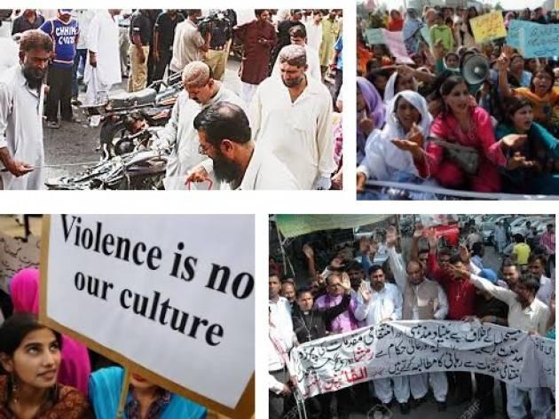 I diritti umani nel Pakistan