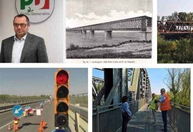 Luciano Pizzetti conferma lo stanziamento dei 35 milioni per il ponte di Casalmaggiore.