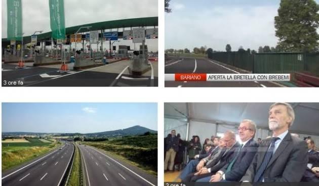 Autostrade: Legambiente (Balotta), bretella 'salva-Brebemi' non eviterà fallimento  di Dario Balotta