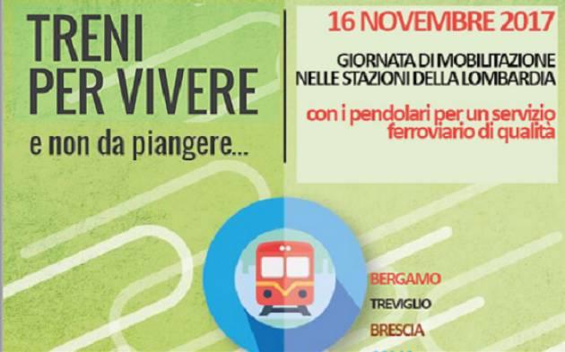 Il PD con i pendolari  Il 16 novembre presidio   nelle stazioni di Cremona e di Crema