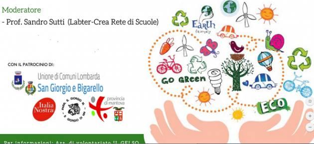 Mantova, Conferenza Pubblica sui  CAMBIAMENTI CLIMATICI il 23 ottobre