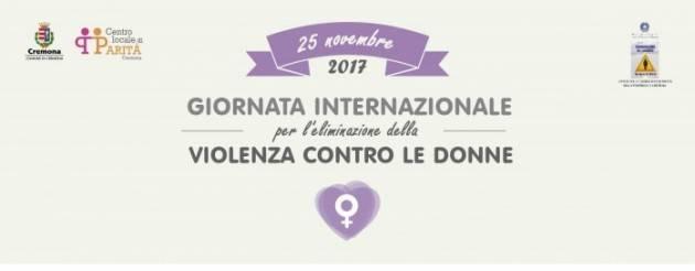 Cremona il programma iniziative 25 novembre NO ALLA VIOLENZA CONTRO LE DONNE