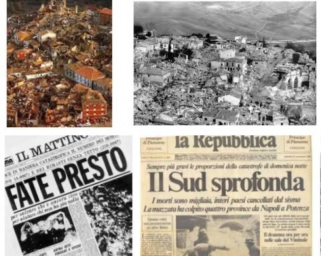 AccaddeOggi   #23novembre 1980 – Terremoto dell'Irpinia: si verificò un sisma 6,5 della scala Richter