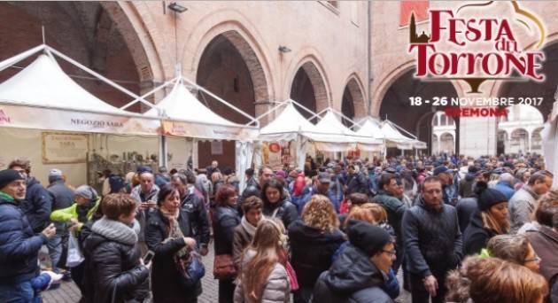 Gran finale a Cremona della Festa del Torrone 2017 Il programma domenica 26 novembre