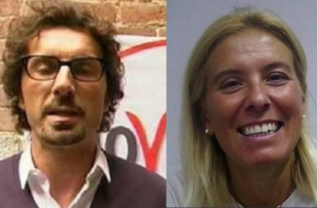 Candidato M5S Presidente Lombardia . Danilo Toninelli polemizza  con Alessia Manfredini (Pd)