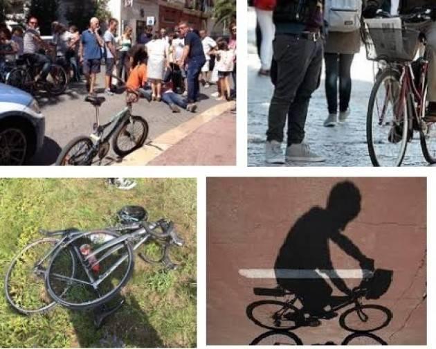Un ciclista investe un pedone. La solidarietà e le scuse della FIAB di Cremona