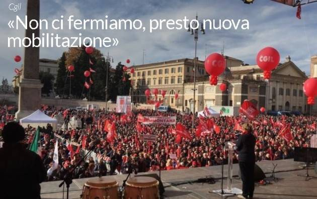 Foto Gallery Manifestazione Cgil a Torino. Hanno partecipato 200 cremonesi. Soddisfazione di  Marco Pedretti