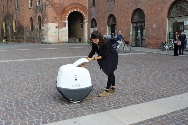 Tecno A Cremona Il Pony Express robot