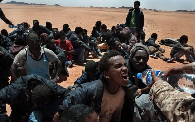 Pianeta Migranti. Difficile sgomberare i centri detenzione in Libia.