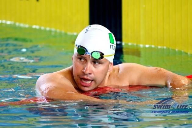 Il cremonese  Efrem Morelli campione del mondo nei 50 a rana a Città del Messico