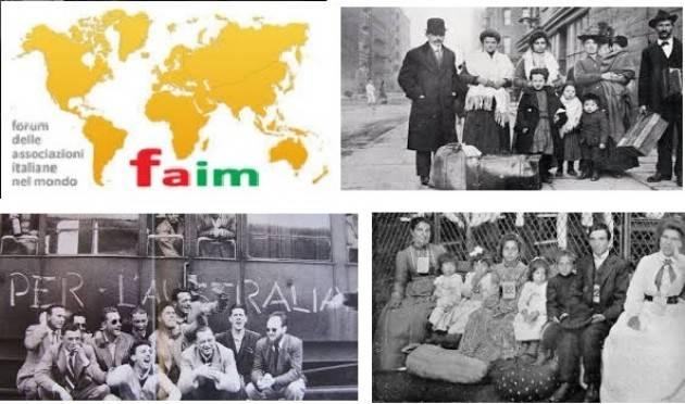 Fiam - Emigrazione Il  sole non tramonta mai dove vivono gli italiani