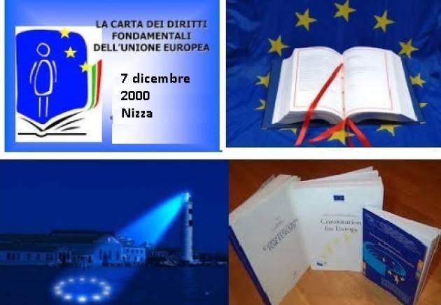 Accadde Oggi 7 dicembre 2000 – A Nizza viene proclamata Carta dei diritti fondamentali dell'Unione europea