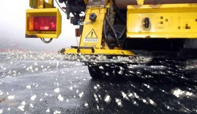 Cremona Ghiaccio e neve, in azione gli spargisale