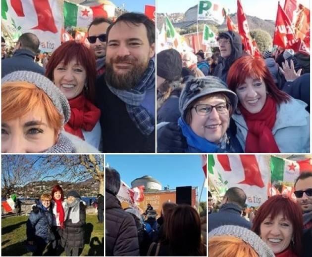 Cinzia Fontana   Como Antifascista Io c'ero