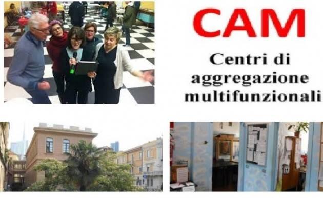 Milano Associazione La Conta invita a partecipare alle FESTE DI NATALE 2017 NEI CAM  dal 15 al 21 dicembre