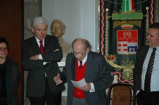 Attilio Boldori è tornato nella sede istituzionale in cui operò