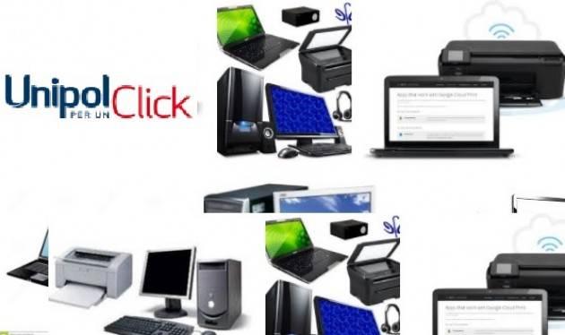 Unipol dona 280 fra pc e stampanti alle organizzazioni NO Profit