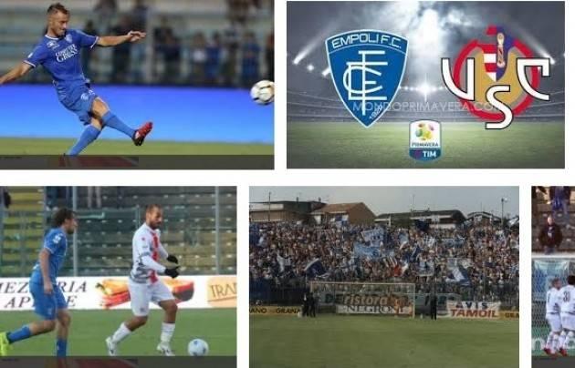 Cremonese-Empoli  (1-1) Muovere la classifica, sempre. Di Giorgio Barbieri