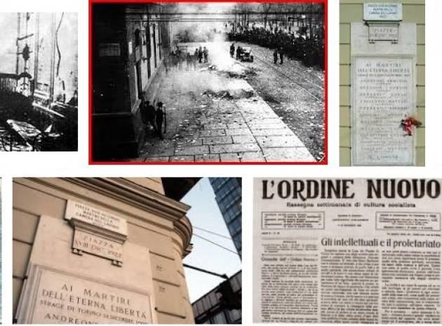 AccaddeOggi  18  dicembre 1922  Strage di Torino : 11 antifascisti uccisi dagli squadristi. Le autorità non intervengono