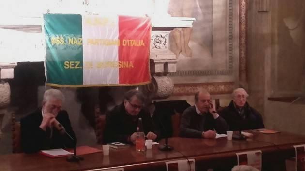 Anpi Soresina Miguel Gotor (Liberi Uguali)  parla dell'attualità di Antonio Gramsci