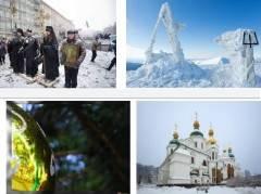 Ucraina  In migliaia affrontano le rigide condizioni invernali