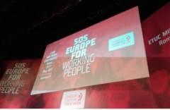 Cgil Europa, il 2018 sia un anno di svolta di Fausto Durante