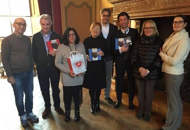 Cremona GLI AUGURI DI TELETON ALLA GIUNTA COMUNALE