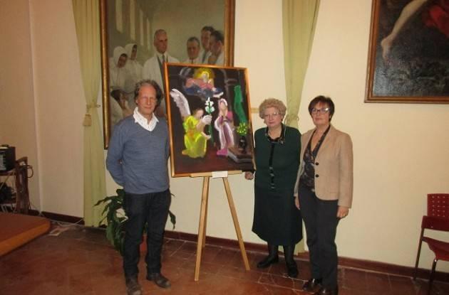Donata  dal pittore Mauro Maffezzoni alla Fondazione Città di Cremona l'opera Cover 31